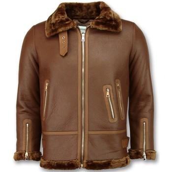 Textiel Dames Leren jas / kunstleren jas Z Design Imitatie Lammy Coat 28