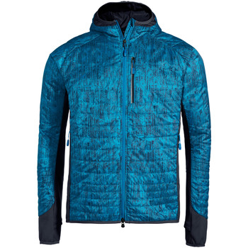 Textiel Heren Fleece Vaude Me Sesvenna AOP Jacket III Icicle
