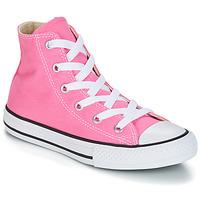 Schoenen Kinderen Hoge sneakers Converse CHUCK TAYLOR ALL STAR CORE HI Roze