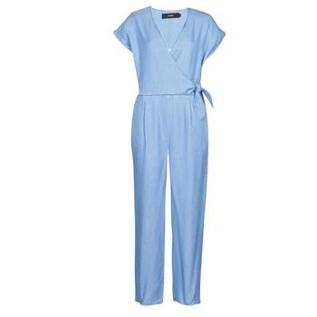 Textiel Dames Jumpsuites / Tuinbroeken Vero Moda VMLAURA Blauw / Clair