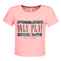 Textiel Dames T-shirts korte mouwen Only Play  Roze