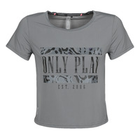 Textiel Dames T-shirts korte mouwen Only Play  Grijs