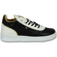 Schoenen Heren Lage sneakers Cash Money Schoenen Online - Sneaker Luxury Black White - Zwart