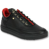Schoenen Heren Lage sneakers Cash Money Line Black Green Red Zwart