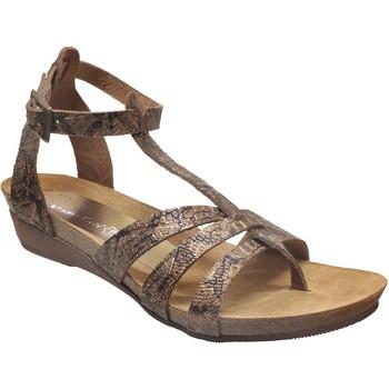 Schoenen Dames Sandalen / Open schoenen Xapatan 5134 Brons leer