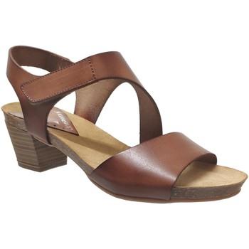 Schoenen Dames Sandalen / Open schoenen Xapatan 1088 Middenbruin leer