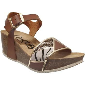 Schoenen Dames Sandalen / Open schoenen K. Daques Cali Bruin