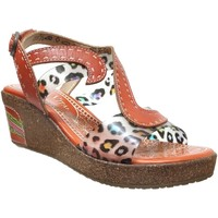 Schoenen Dames Sandalen / Open schoenen Laura Vita Hackeo 06 Oranje