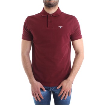 Textiel Heren Polo's korte mouwen Barbour BAPOL0119 Bordeaux