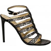 Schoenen Dames Sandalen / Open schoenen Ororo CAMOSCIO nero