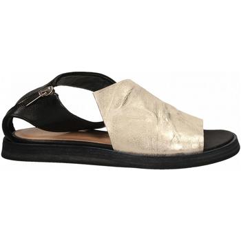 Schoenen Dames Sandalen / Open schoenen Salvador Ribes METAL PARKER + MATRIX panna-nero
