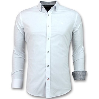 Textiel Heren Overhemden lange mouwen Tony Backer Blouse Wit