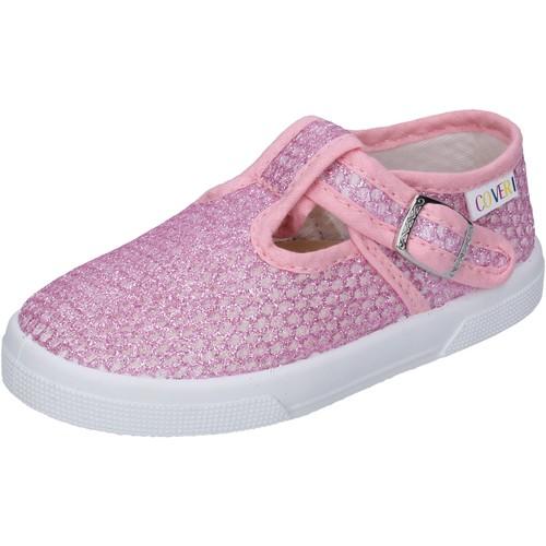 Schoenen Meisjes Lage sneakers Enrico Coveri BN685 Roze