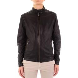 Textiel Heren Leren jas / kunstleren jas Yes Zee J516-JA00 Nero