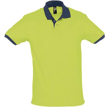 Textiel Polo's korte mouwen Sols PRINCE COLORS Verde