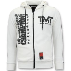 Textiel Heren Sweaters / Sweatshirts Local Fanatic Trainingsvest TMT Floyd Mayweather Wit