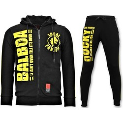 Textiel Heren Trainingspakken Local Fanatic Trainingspak Rocky Balboa Sport Pak Zwart