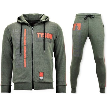 Textiel Heren Trainingspakken Local Fanatic Trainingspak Iron Mike Tyson Boxing Groen