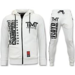 Textiel Heren Trainingspakken Local Fanatic Joggingpak - TMT Floyd Mayweather Set - Wit