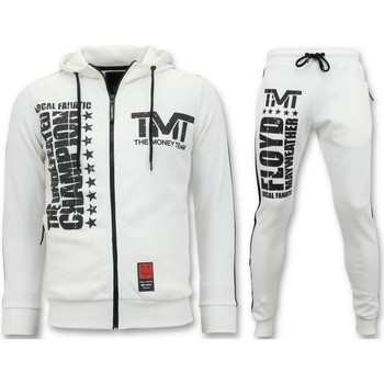 Textiel Heren Trainingspakken Local Fanatic Joggingpak TMT Floyd Mayweather Set Wit