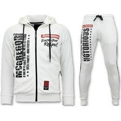 Textiel Heren Trainingspakken Local Fanatic Joggingpak Mcgregor Notorious Sport Set Wit