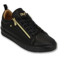 Schoenen Heren Lage sneakers Cash Money Sneaker - CMP Black Gold - CMS97 - Zwart