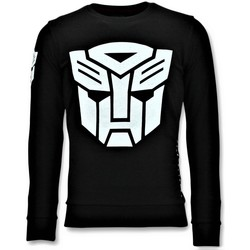 Textiel Heren Sweaters / Sweatshirts Local Fanatic Sweater - Transformers Print - Zwart
