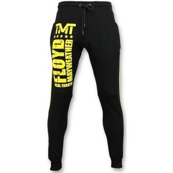 Textiel Heren Trainingsbroeken Local Fanatic Trainingsbroek Floyd Mayweather Sweatpants Zwart