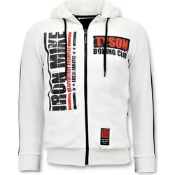Textiel Heren Sweaters / Sweatshirts Local Fanatic Trainingsvest Iron Mike Tyson Boxing Wit
