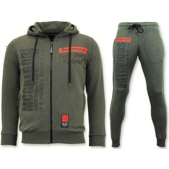 Textiel Heren Trainingspakken Local Fanatic Trainingspak Mcgregor Notorious Sport Set Groen