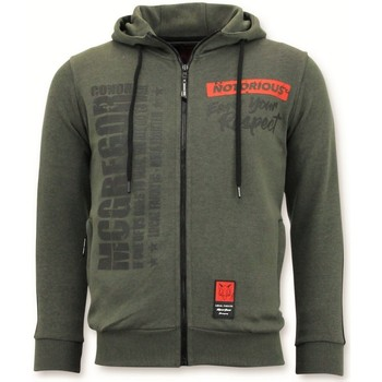 Textiel Heren Sweaters / Sweatshirts Local Fanatic Trainingsvest Conor Mcgregor Hoodie Groen