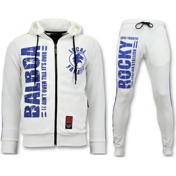 Textiel Heren Trainingspakken Local Fanatic Trainingspak Rocky Balboa Sport Pak Wit