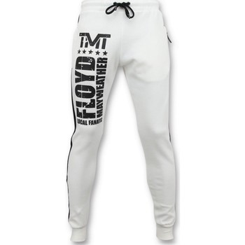 Textiel Heren Trainingsbroeken Local Fanatic Joggingbroek Floyd Mayweather Sweatpants Wit