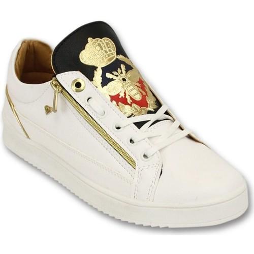 Schoenen Heren Lage sneakers Cash Money Prince White Black Wit
