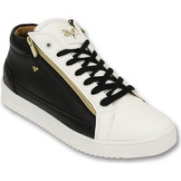 Schoenen Heren Lage sneakers Cash Money Sneaker - Bee Black White Gold 2- Wit