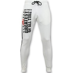 Textiel Heren Trainingsbroeken Local Fanatic Sweatpants Muhammad Ali Trainingsbroek Wit