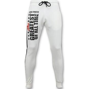 Textiel Heren Trainingsbroeken Local Fanatic Sweatpants - Muhammad Ali Trainingsbroek - Wit