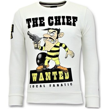 Textiel Heren Sweaters / Sweatshirts Local Fanatic Rhinestones The Chief Wanted Wit