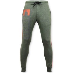 Textiel Heren Trainingsbroeken Local Fanatic Sweatpants Mike Tyson Trainingsbroek Groen