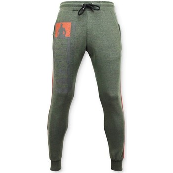 Textiel Heren Trainingsbroeken Local Fanatic Sweatpants - Mike Tyson Trainingsbroek - Groen