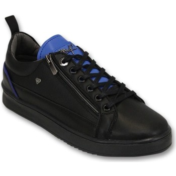 Schoenen Heren Lage sneakers Cash Money Sneakers - Maximus Black Blue - Zwart, Blauw
