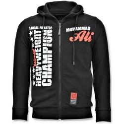 Textiel Heren Sweaters / Sweatshirts Local Fanatic Sportvest - Muhammad Ali Champion Print - Zwart
