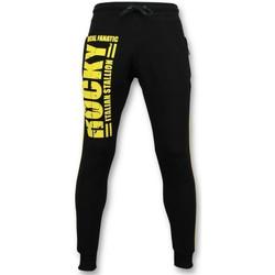 Textiel Heren Trainingsbroeken Local Fanatic Trainingsbroek - Rocky Italian Stallion - Zwart