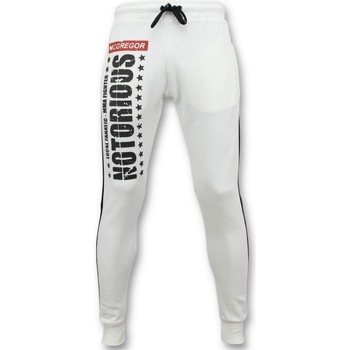 Textiel Heren Trainingsbroeken Local Fanatic Trainingsbroek McGregor Notorious Sweatpants Wit