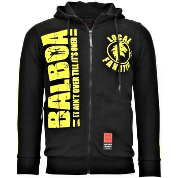 Textiel Heren Sweaters / Sweatshirts Local Fanatic Jogging Vest Rocky Balboa Boxing Zwart