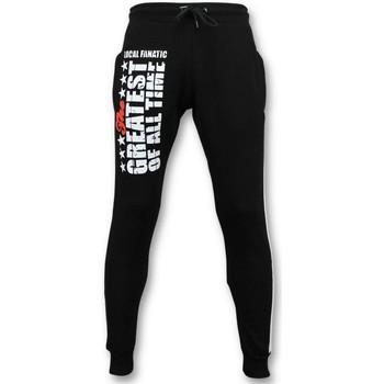 Textiel Heren Trainingsbroeken Local Fanatic Sweatpants Muhammad Ali Trainingsbroek Zwart
