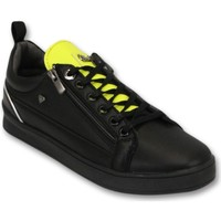 Schoenen Heren Lage sneakers Cash Money Maximus Black Yellow Zwart