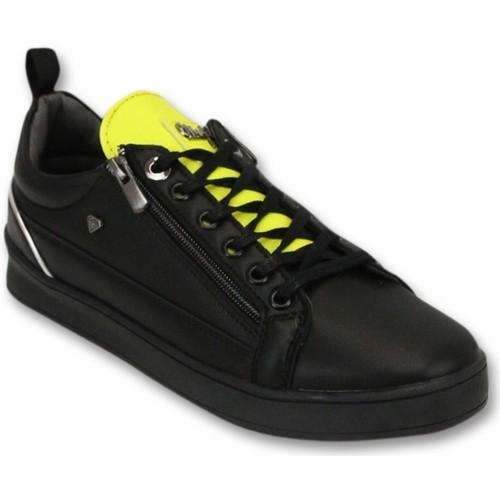 Schoenen Heren Lage sneakers Cash Money Maximus Black Yellow Zwart