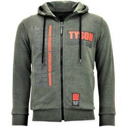Textiel Heren Sweaters / Sweatshirts Local Fanatic Trainingsvest Tyson Boxing Iron Mike Groen