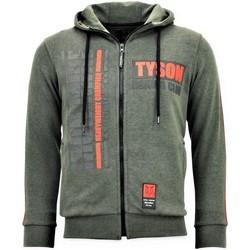 Textiel Heren Sweaters / Sweatshirts Local Fanatic Trainingsvest - Tyson Boxing Iron Mike - Groen